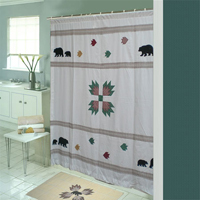 Themed Shower Curtain