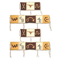 """Brand Western Bumper Pads 10""""x52"""" & 10""""x25"""" 2 EA"""