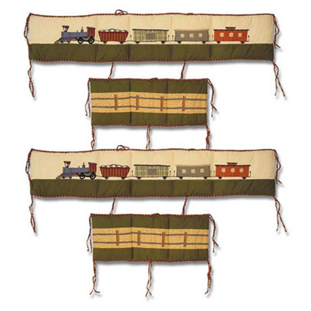 "Train Bumper Pads 10""x52"" & 10""x25"" 2 EA"