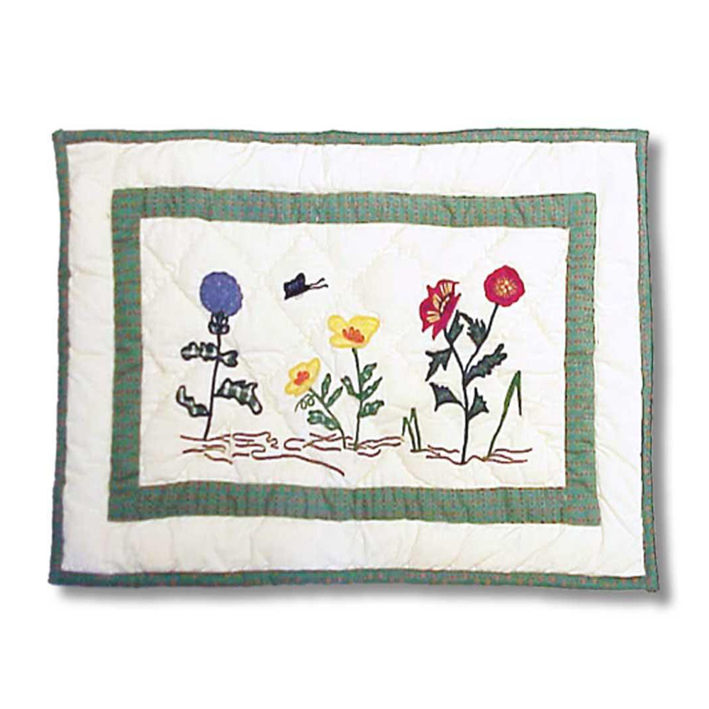 """Wildflowers Meadow Combo Place Mats, Set of 24 pieces. Size- 13""""W x 19""""L"""