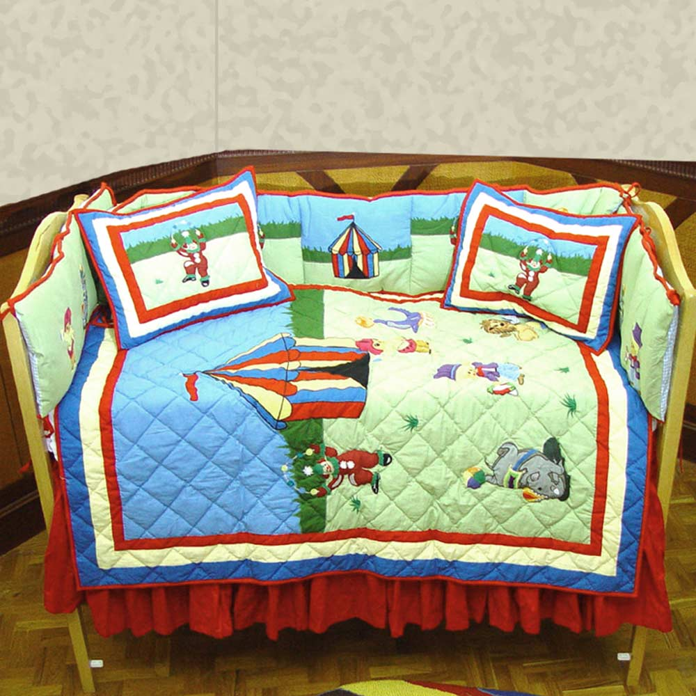 Circus Crib Set 6 Pieces