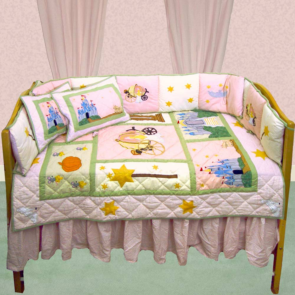 Fairy Tale Princess Crib Set 6 Pieces