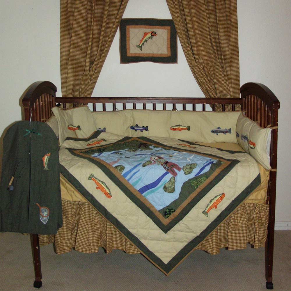 Fly Fishing set Crib Set 6 Pieces