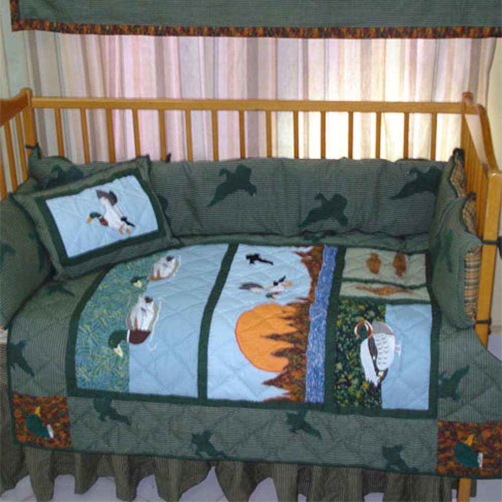 Mallard Crib Set 6 Pieces