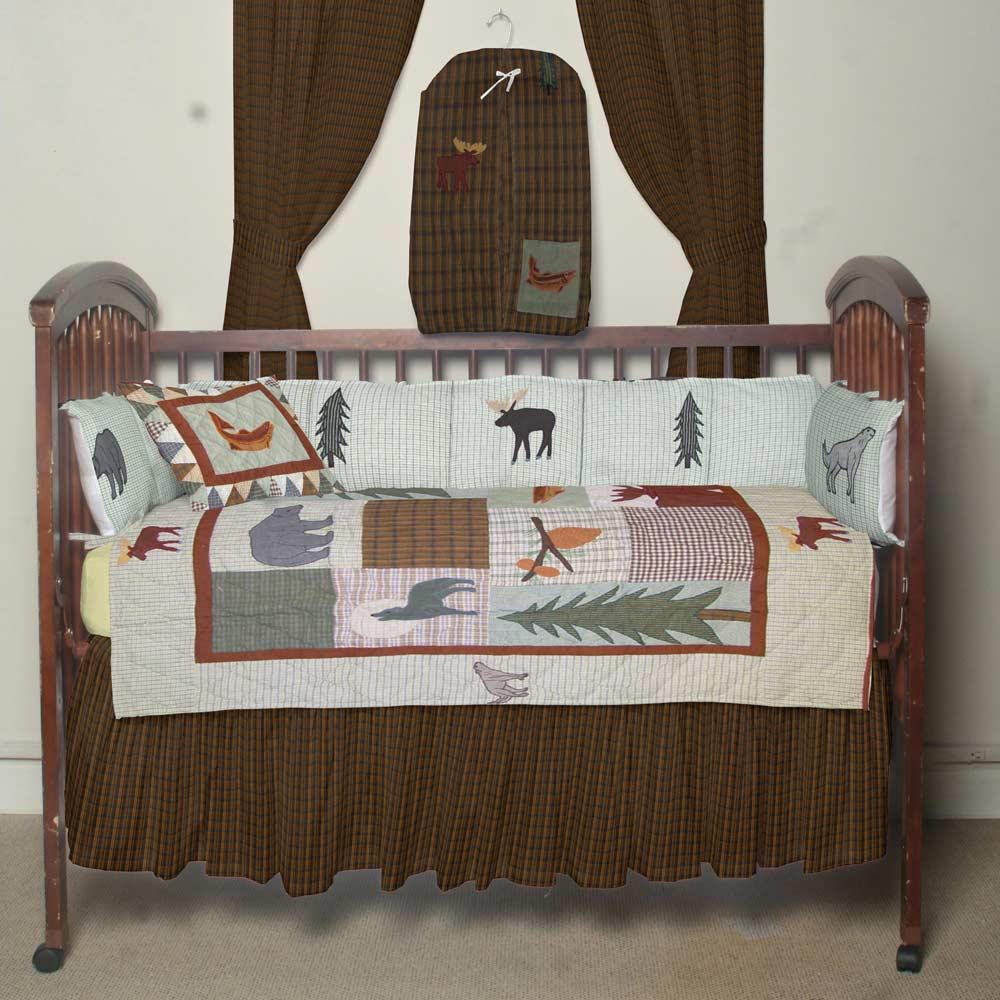 Mountain Whispers Crib Set 6 Pieces