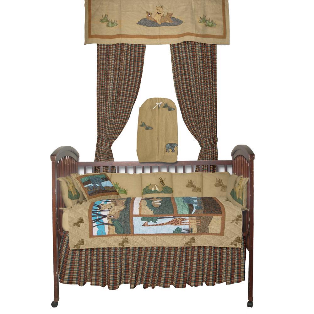 Safari Crib Set 6 Pieces