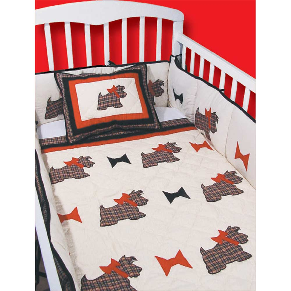 Scottie Crib Set 6 Pieces