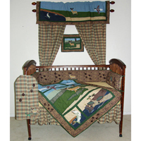 Wilderness Crib Set 6 Pieces