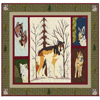 """Call of the Wild Shower Curtain 72""""W x 72""""L"""