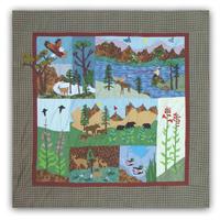"Natures Splendor Shower Curtain 72""W x 72""L"