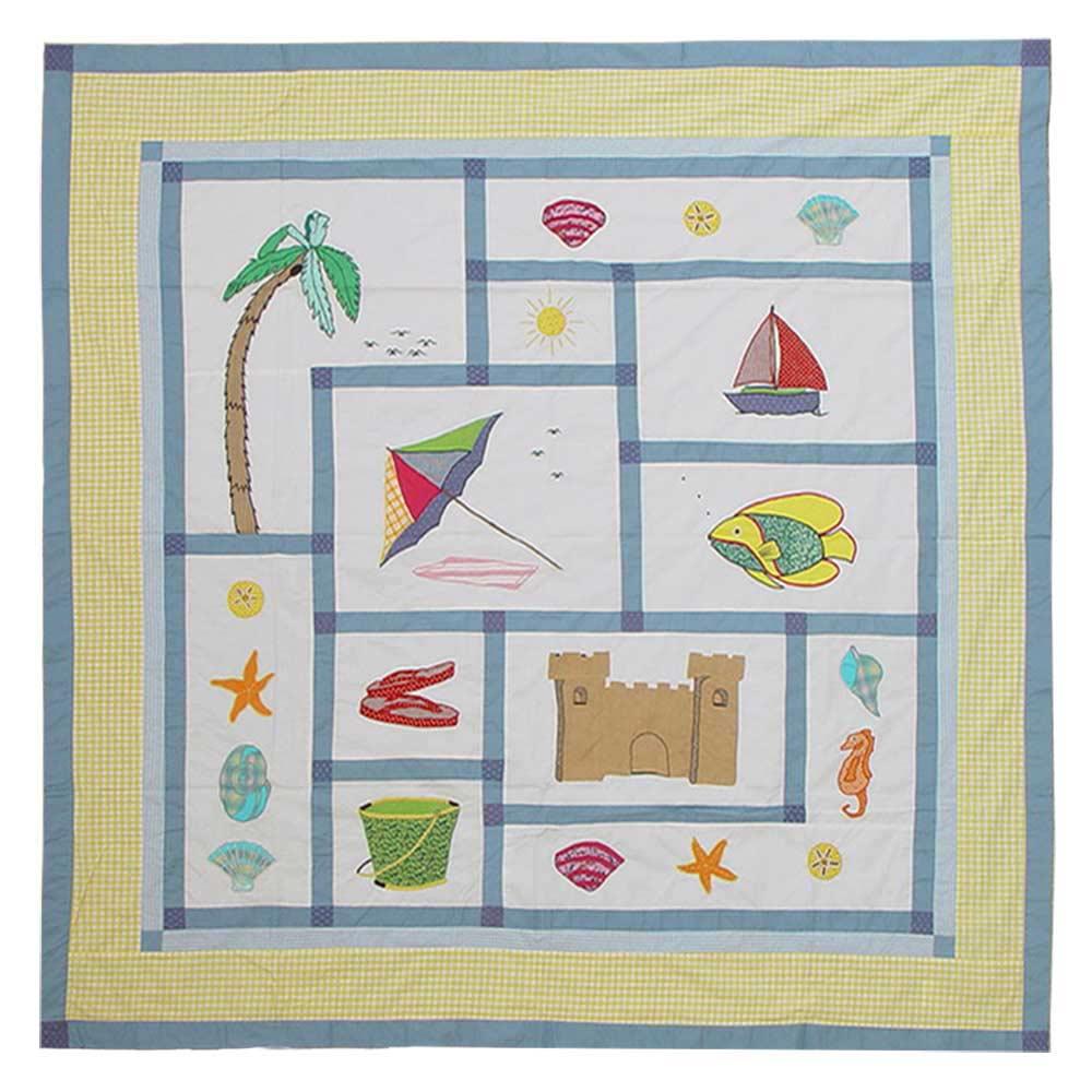 "Summer Fun Shower Curtain 72""W x 72""L"