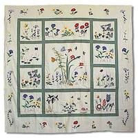 "Wildflower Shower Curtain 72""W x 72""L"