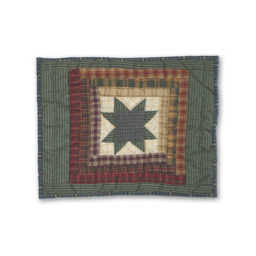 "Cottage Star Lumbar/Neck Pillow 12""w x 16""l"