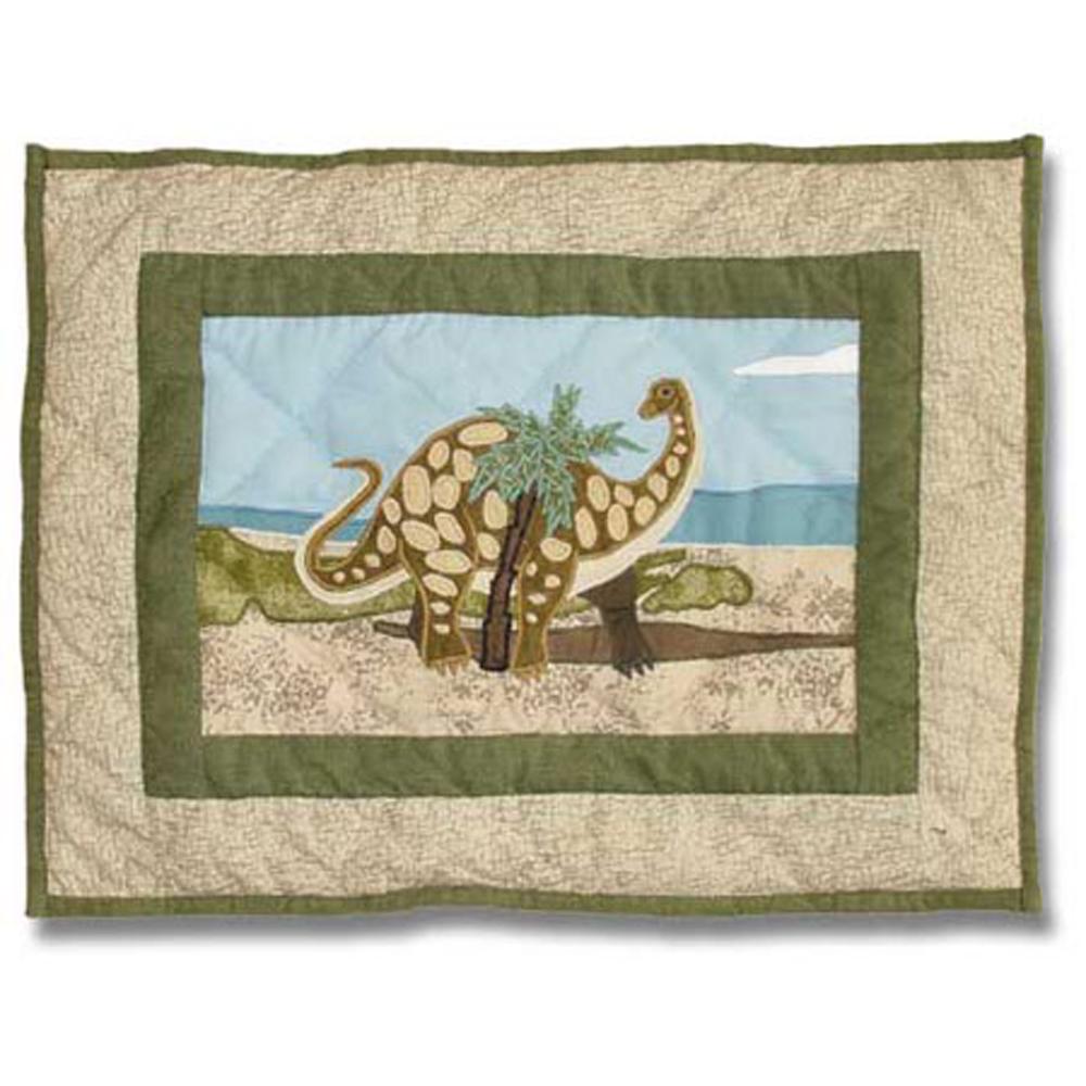"""Dinosaur Lumbar/Neck Pillow 12""""w x 16""""l"""