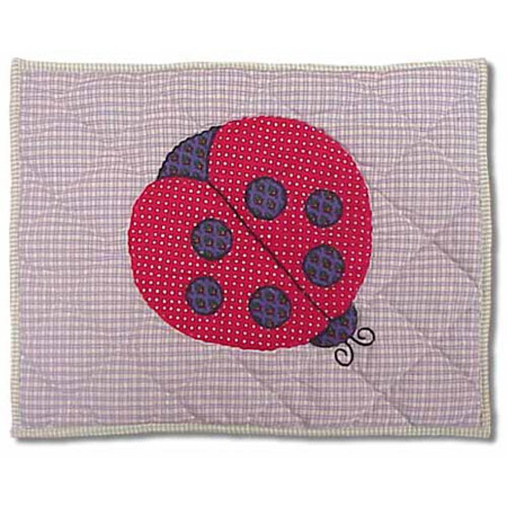 """LadyBug Crib Pillow 12""""W x 16""""L"""