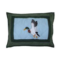 """Mallard Crib Pillow 12""""W x 16""""L"""