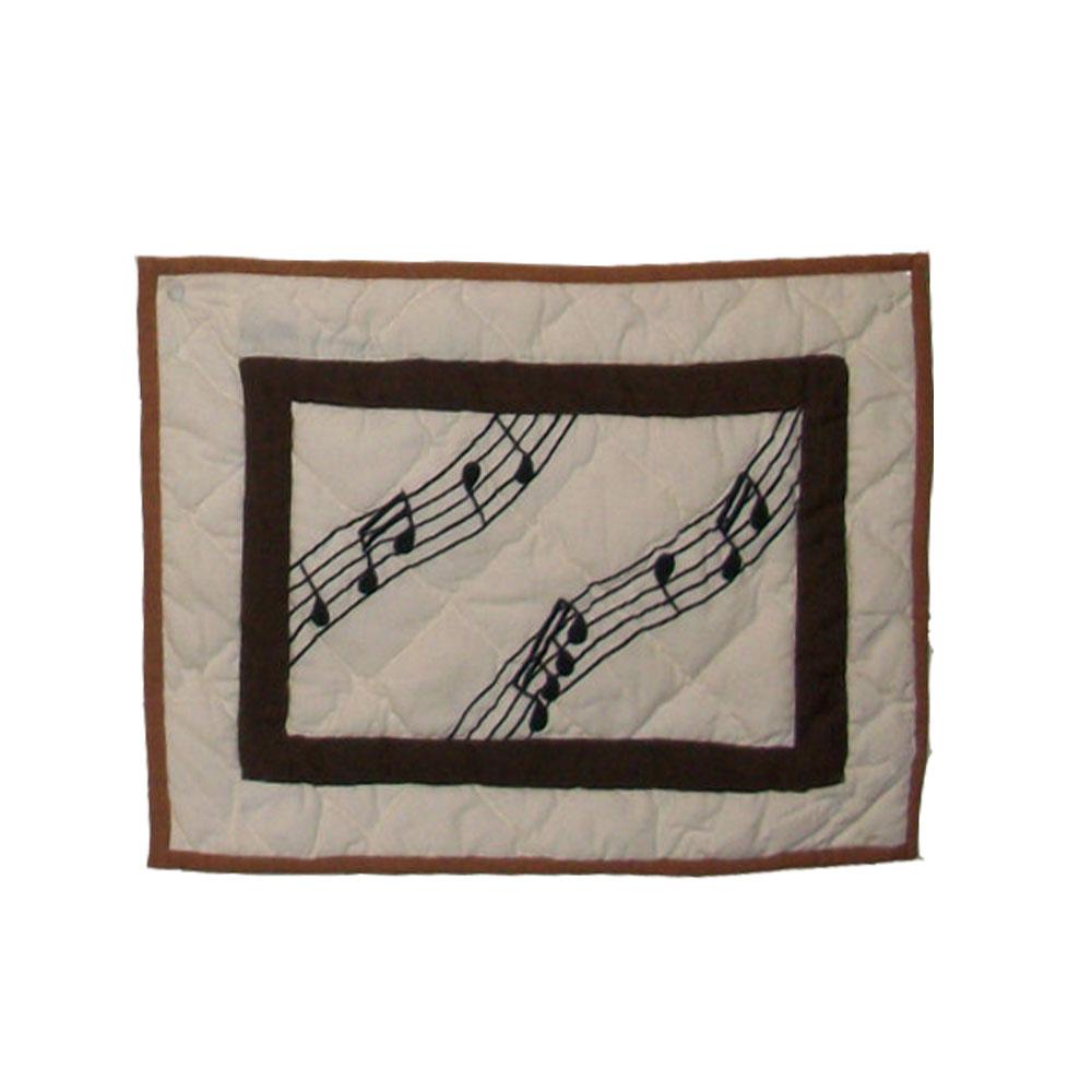 """Music,crib toss pillow 12""""w x 16""""l"""
