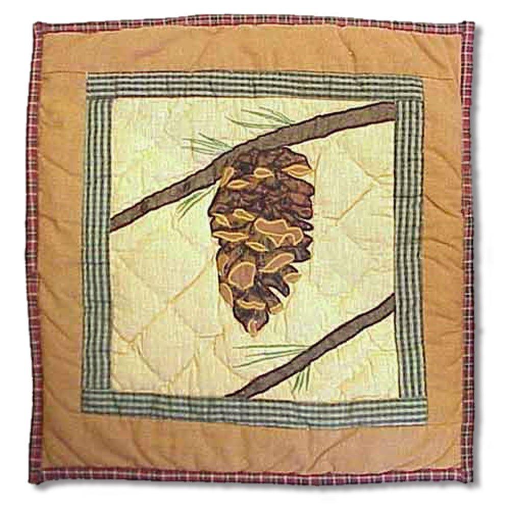 """Pinecone Lumbar/Neck Pillow 12""""w x 16""""l"""