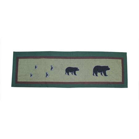 "Bear Trail Curtain Valance 54""W x 16""L"