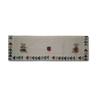 "Brown Bear Curtain Valance 54""W x 16""L"