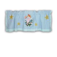 "Baby Angels Curtain Valance 54""W x 16""L"