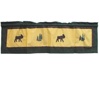 "Cedar Trail Curtain Valance 54""W x 16""L"