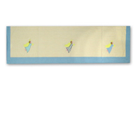 "Flying Angels Curtain Valance 54""W x 16""L"