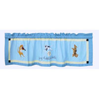 "Hey Diddle Diddle valance 54""w x 16""l"