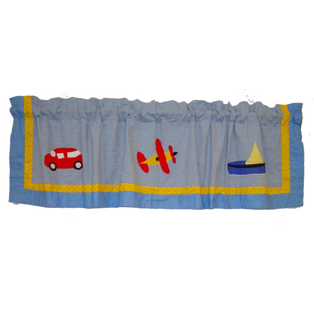 "Junior Travel Curtain Valance 54""W x 16""L"