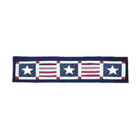 """Patriot Curtain Valance 54""""W x 16""""L"""