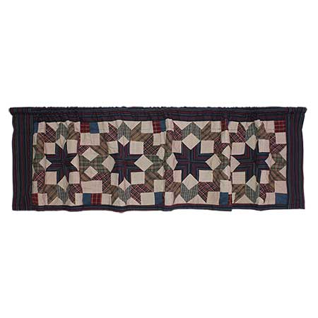 "Star Light valance 54""w x 16""l"