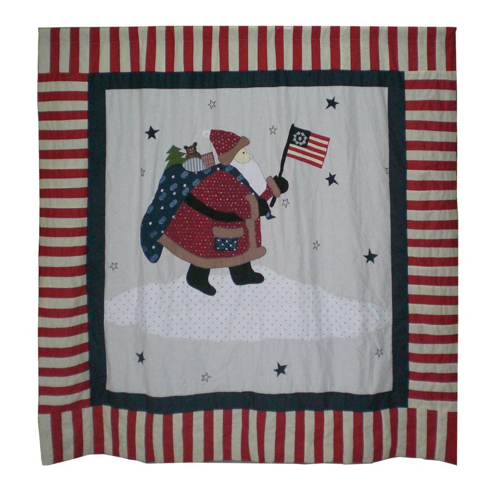 "Colonial Santa shower cz curtain 72""w x 72""l"