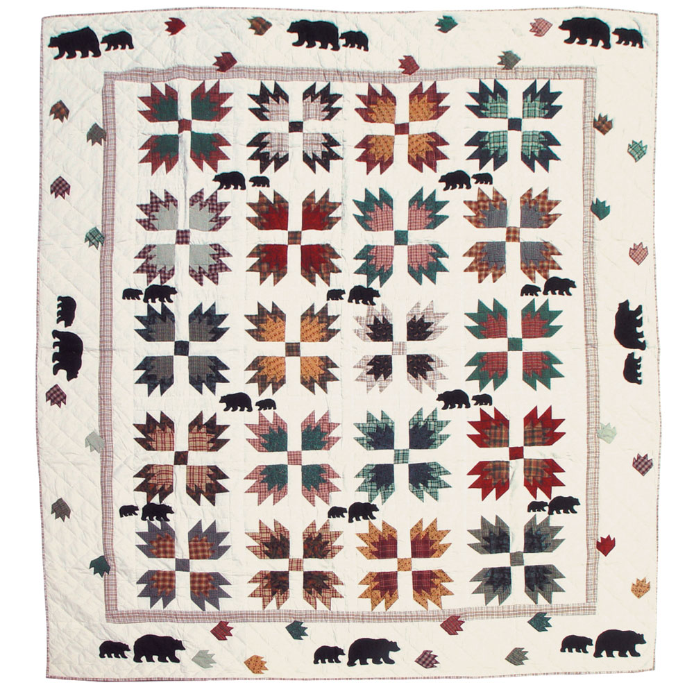 "Bear's Paw King Duvet Cover 108""W x 98""L"