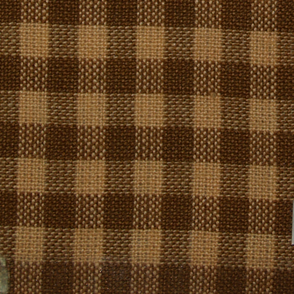 "Fly Fishing Brown and Gold Gingham (w245a) Crib Bed Skirt 28"" x 53""-Drop-13"""