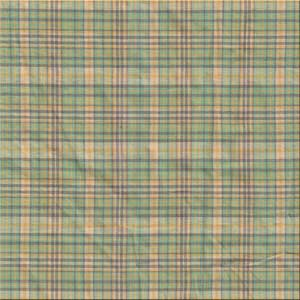 Green yellow plaid fabrics by the yard