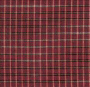 Red Plaid fabrics by the yard