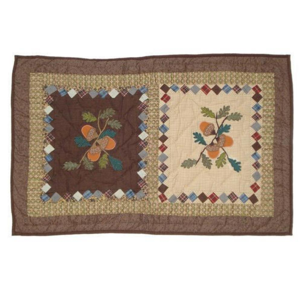 "Acres of Acorns Pillow Sham 27""W x 21""L"