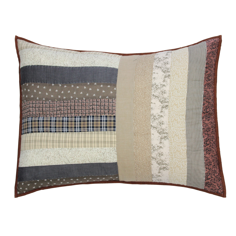 "Express Log Cabin King Sham 31""W x 21""L"