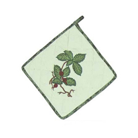 "Botanaical Gardens Pot Holder 8""W x 8""L"