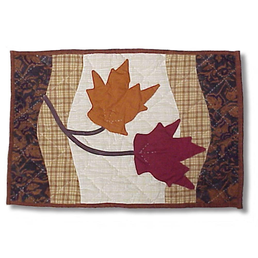 """Autumn Leaves Place Mat 13""""W x 19""""L"""