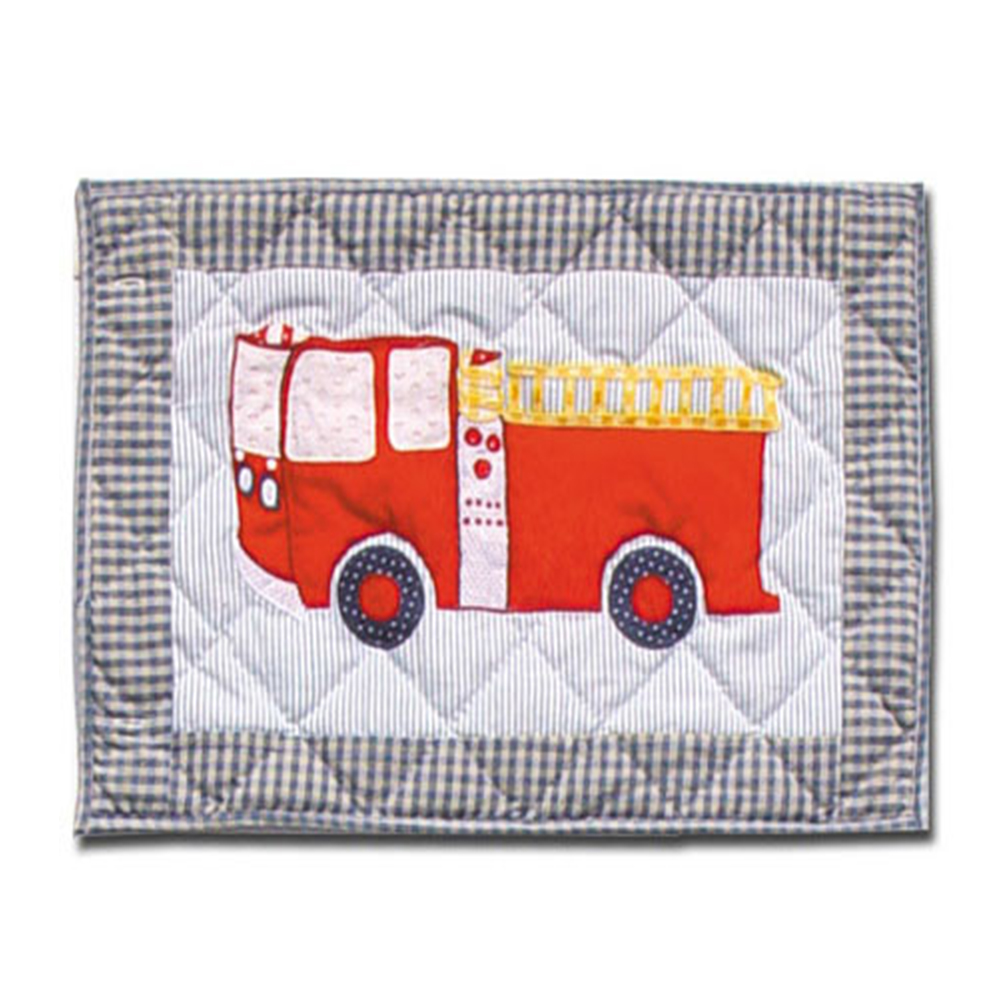 "Fire Truck Place Mat 13""W x 19""L"