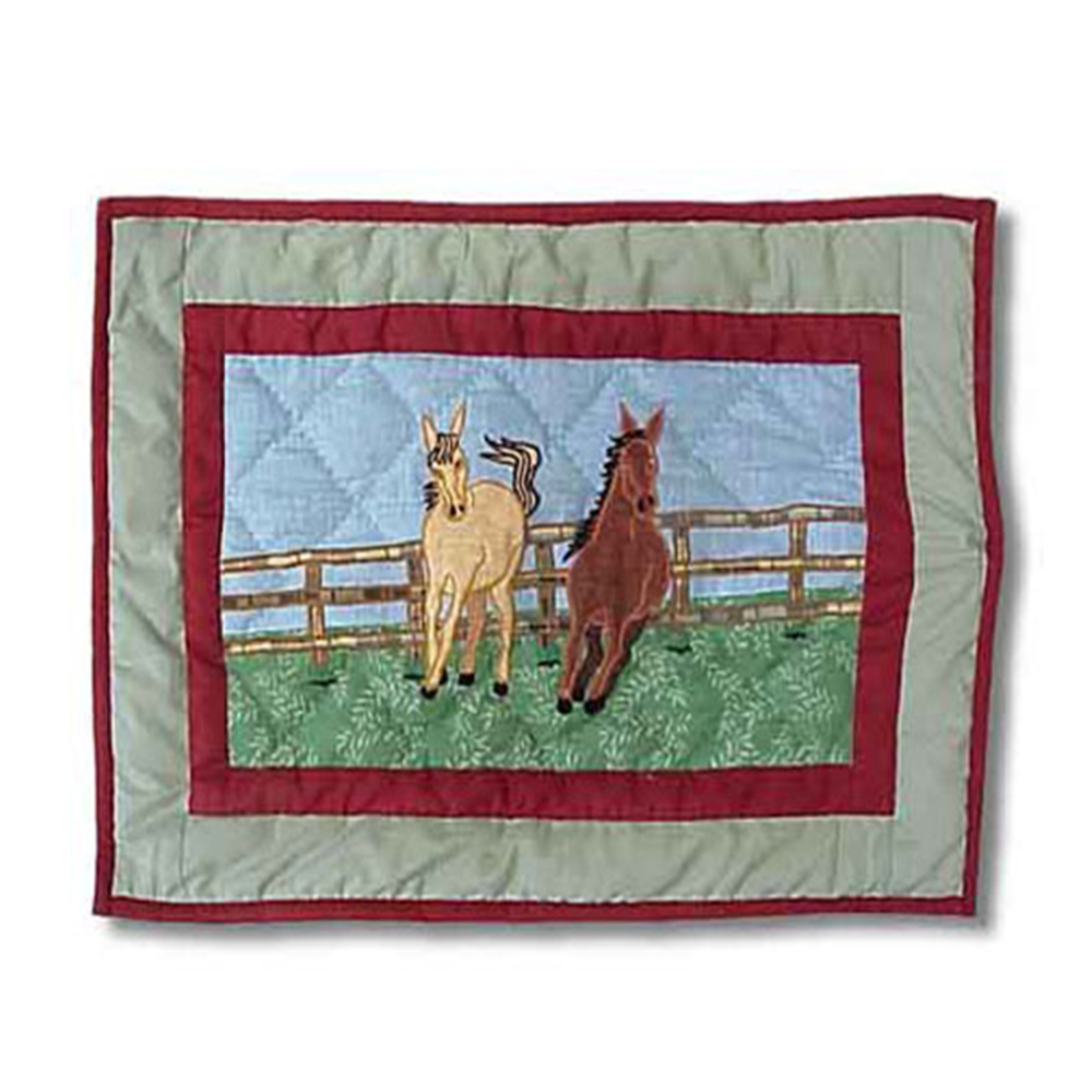 """Horse Place Mat 13""""W x 19""""L"""