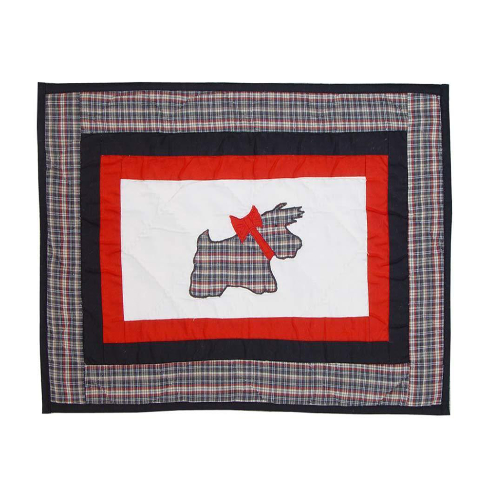 "Scottie Place Mat 13""W x 19""L"