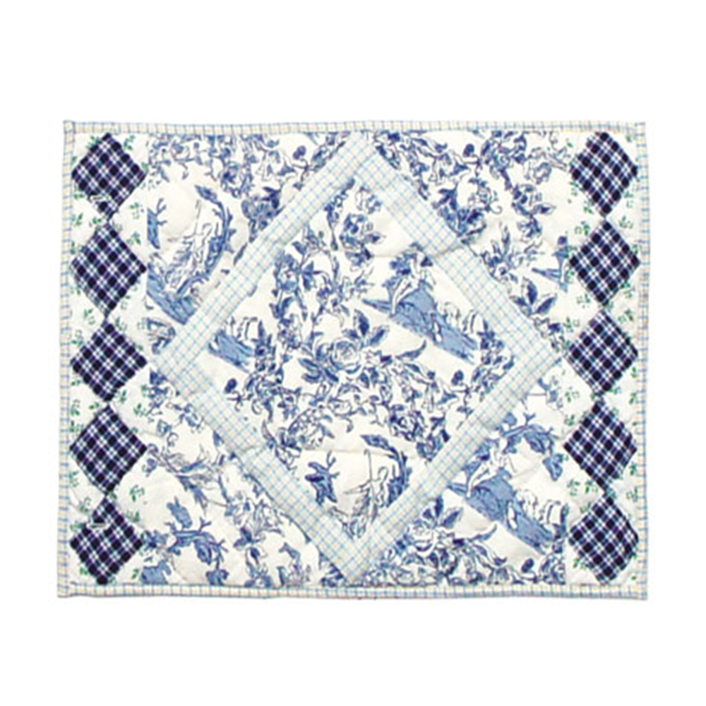 "Somerset Cottage Place Mat 13""W x 19""L"