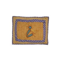 "Kokopelli Crib Toss Pillow 12""w x 16""l"
