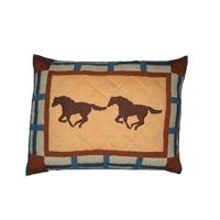 """Horse trail - Horse Pillow Sham 27""""W x 21""""L"""