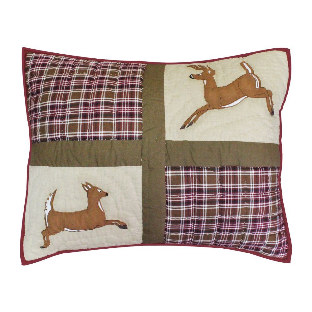 "White Tails Pillow Sham 27""W x 21""L"
