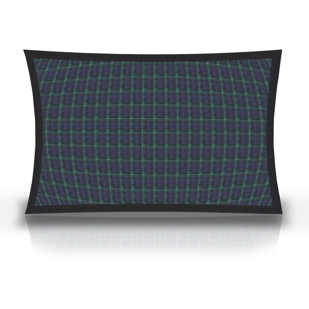 "Tartan Plaid,fabric pillow shams 27""w x 21""l, Flanged"