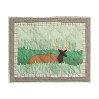 "Elk Pillow Sham 27""W x 21""L"