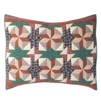 "Giftwrap Pillow Sham 27""W x 21""L"